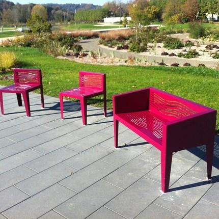 Le banc public mobilier urbain france urba fabricant for Mobilier urbain espace public
