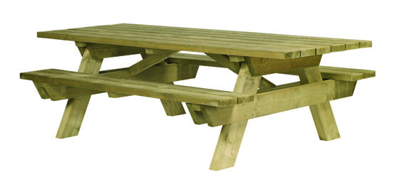 table pique nique bois handicap table de pique nique. Black Bedroom Furniture Sets. Home Design Ideas